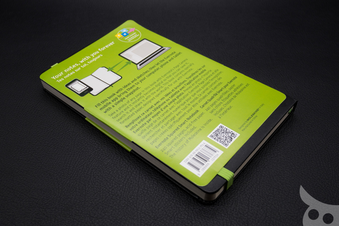 Moleskine Evernote Smart Notebook : Large